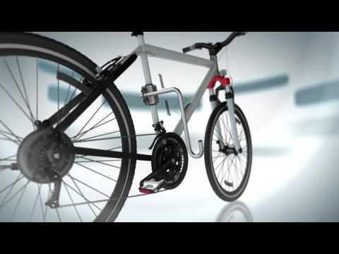kleinmetall dogrunner fahrradhalter fahrradleine f hrleine. Black Bedroom Furniture Sets. Home Design Ideas