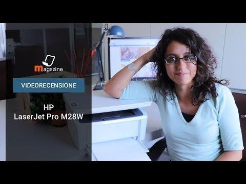 Stampante multifunzione HP LaserJet Pro M28w: la recensione
