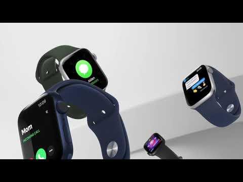 APPLEApple Watch Series 6 GPS 44mm Alluminio BluCinturino Sport Blu