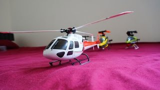 WLtoys V931 Brushless AS350 Scale Helicopter - Unbox and Introduction