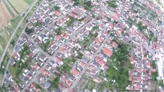 preview picture of video 'Bruchpilot Klaus Pilotenklaus Ul-Flug bei Kronau Harte Landung Crash...Danger Crazy'