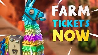 How To Farm For Birthday Llamas NOW! Fortnite