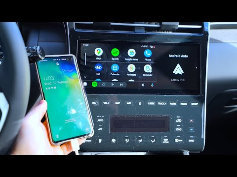 2021 Hyundai Tucson Android Auto & Sound Test