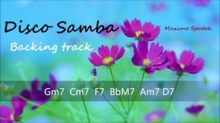LATIN DISCO SAMBA IN G FOR GUITAR, TRUMPET, SAXOPHONE, PIANO, FLUTE, PERCUSSION