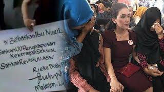 Rieke Diah Pitaloka Tandatangani Petisi Perjuangkan Nasib Ibu Nuril