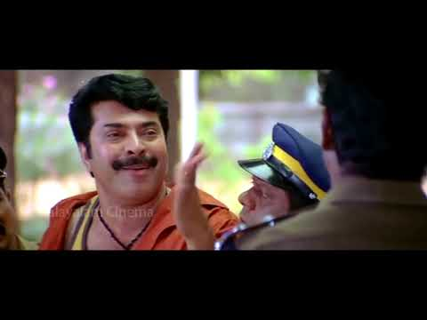 Comedy Video || Annan Thambi Malayalm Movie || Mammootty & Police Inspector Comedy
