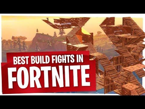 My Best Build Fights in Fortnite - 1v1 & 1v2 - Build Fight Highlights ep1