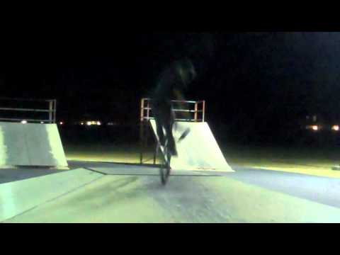 Self Filmed Scrap Night Travis Air Force Base Skatepark.