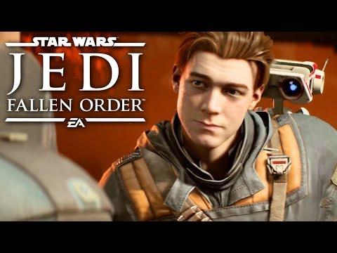 Star Wars Jedi: Fallen Order — Official Extended Cut 4K Gameplay Demo