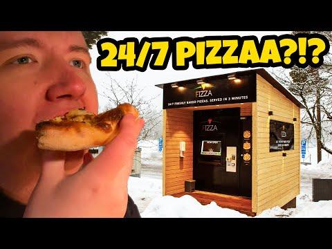 Pizza-automaatti Kauniaisissa