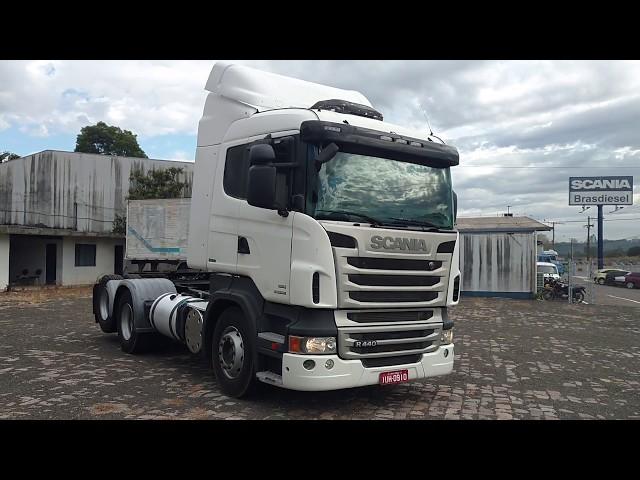 Vídeo do caminhão R440 6X2