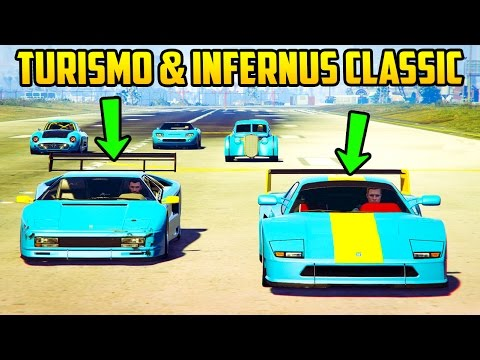 TURISMO & INFERNUS CLASSIC - ARE THEY GOOD? SPEED TESTS + HOW THEY COMPARE VS OTHER TOP CARS!
