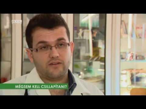 Gyomorparaziták kezelése emberben