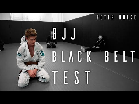 Jiu Jitsu Black Belt Exam   Peter's Crucible   ROYDEAN - YouTube