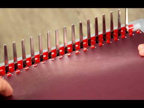 Plastikbinden mit Binderücken