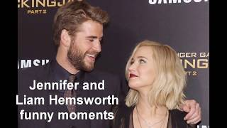 Jennifer Lawrence Funniest Moments With Liam Hemsworth