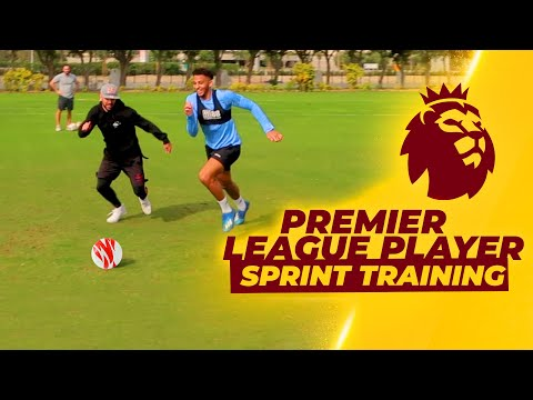 TRAINING WITH A PREMIER LEAGUE FOOTBALL PLAYER (Strength, Physical and technical)