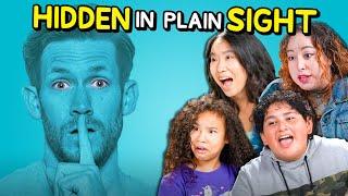 Parents & Kids React To Hidden In Plain Sight (Vat19)