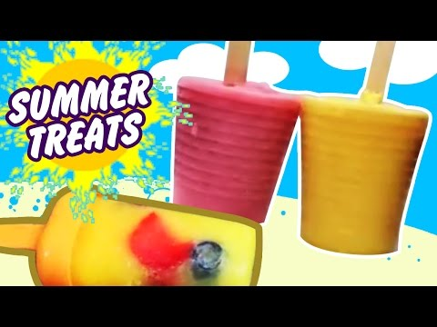 Summer Treats : Healthy Homemade Popsicles by Hoopla Recipes