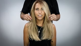 Long One Length Haircut Tutorial Plus Face Frame
