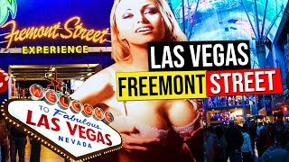 Fremont Street Experience At Night, Las Vegas (Nevada, USA.)