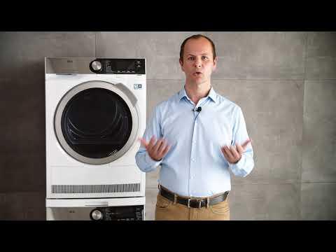 Jak používat a čistit pračku a sušičku - Electrolux/AEG