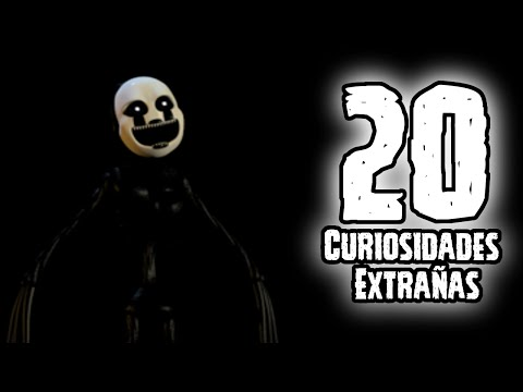 TOP 20: 20 Curiosidades Extrañas Que No Sabias De Nightmarionne De FNAF 4 Halloween