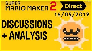 Super Mario Maker 2 Direct (5/15/19) Discussions and Analysis