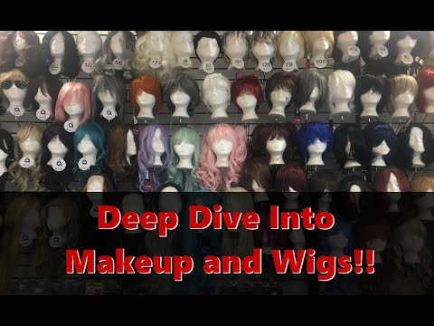 Deep Dive Into Makeup and Wigs!