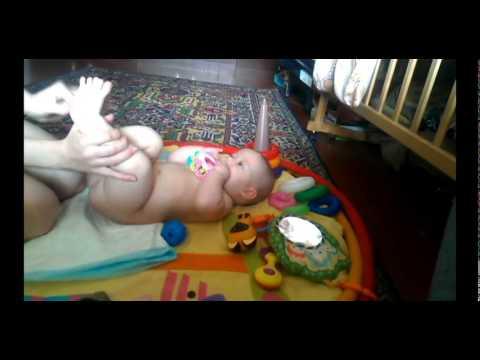 Массаж ребенка при дисплазии ТБС (тазо-бедренного сустава)