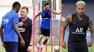 Barcelona News Round-Up ft Dembele Injury, Messi Recovery & Neymar Transfer Latest