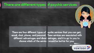 Things you need to know about the services provided by psychics