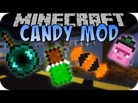 Minecraft HALLOWEEN CANDY MOD (Verrückte Süßigkeiten) [Deutsch]