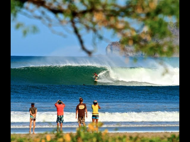 Surfing Tamarindo River Mouth
