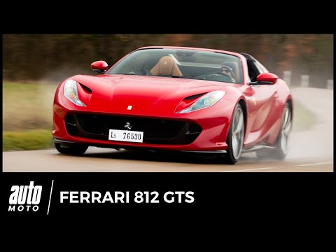 Essai Ferrari 812 GTS : supersonique