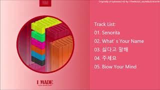 [FULL ALBUM] (G)I-DLE (여자)아이들 - I made