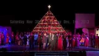Cayman Is Singing Christmas Tree