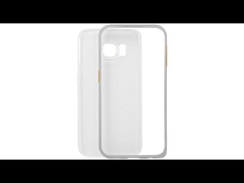 Schutzhülle aus Aluminium und Silikon für Samsung Galaxy S6 Edge von StilGut