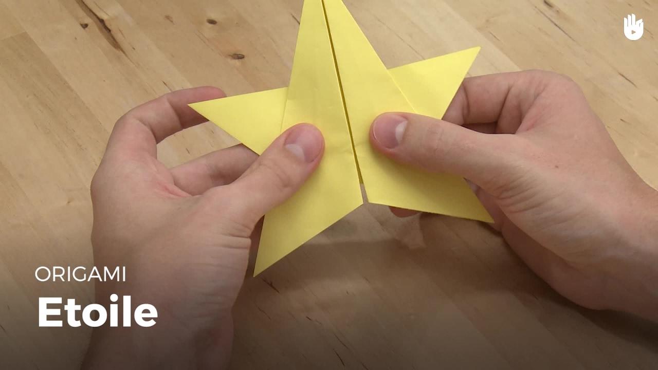 Faire une toile en papier apprendre faire des origamis sikana - Faire une etoile en papier ...