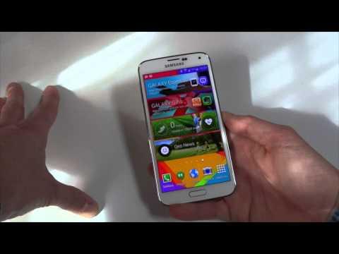 Foto Samsung Galaxy S5: Prime Impressioni