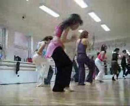 afro dance with Magic Boris lesson N° 2
