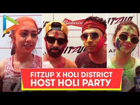 UNCUT: Many Celebs @FitZup & Holy District's Holy Celebration party