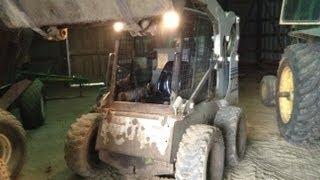 How to operate a Skid Loader/Skid Steer (Bobcat 773)