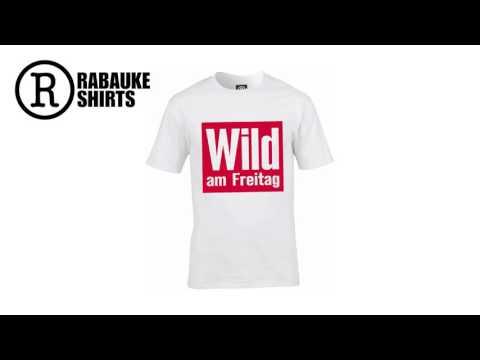 WILD AM FREITAG T-Shirt Unisex | WEISS