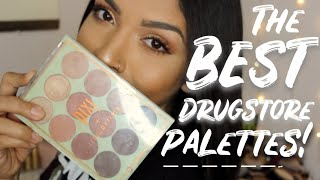 The BEST Drugstore Eyeshadow Palettes!! //2018
