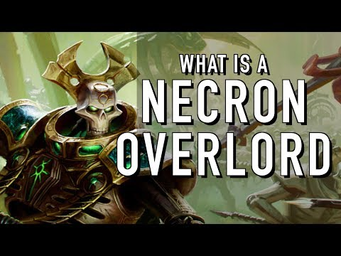 40 Facts and Lore on the Necron Overlord Warhammer 40K