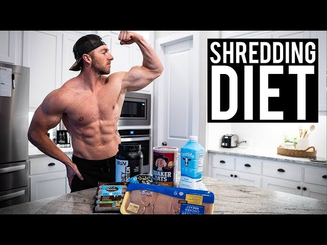 Nick Bare | My Shredding Diet | Meal by Meal | The Cut Ep. 8