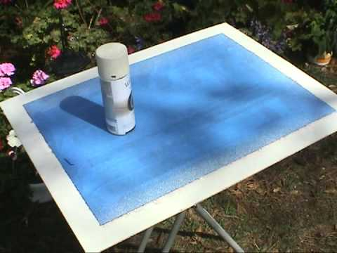 How to Simulate a Linen Mat for Paintings - Gary Garrett painting demo