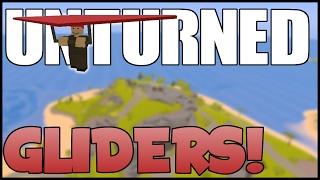 Unturned Gliders! - Longest Glide Ever! | Unturned Hawaii Update