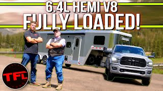 New Ram 2500 HD HEMI Struggles up the World's Toughest Towing Test: Watch this IkeGauntlet